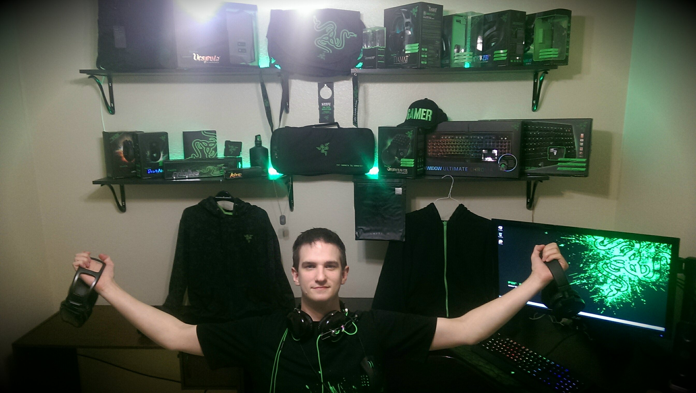Razer is a big name in gaming peripherals because they make quality products